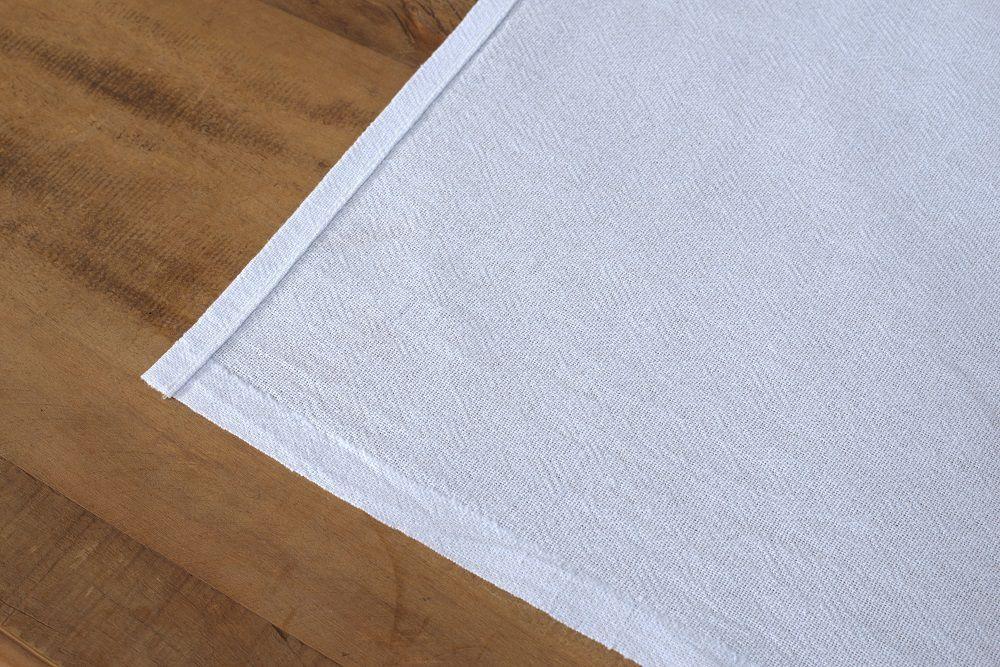 Pacote de Pano de Prato Bainha Liso 45x66cm - 50 unidades