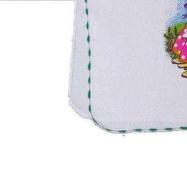 Pacote de Pano de Prato Estampado com Overloque 45 x 66 cm - 50 unidades