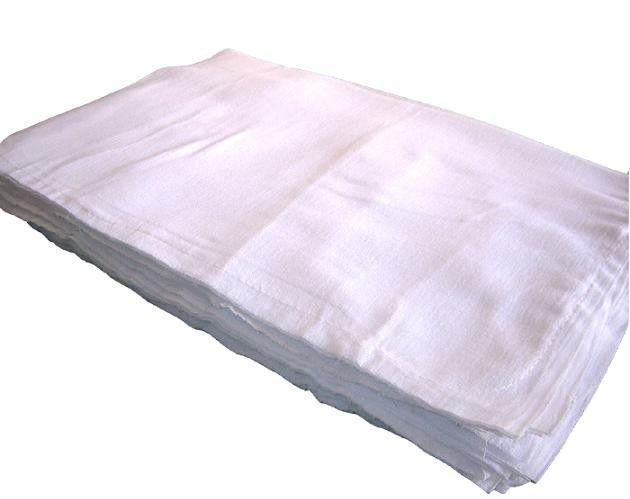 Pacote de Saco Alvejado Grande 100% Algodão 67 x 97 - 20 Unidades