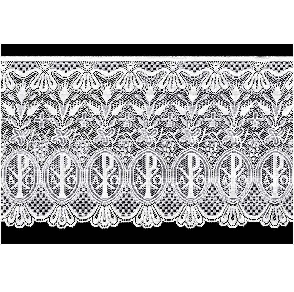 Renda Litúrgica Alpha e Omega 10 m x 60 cm de largura - (16260)