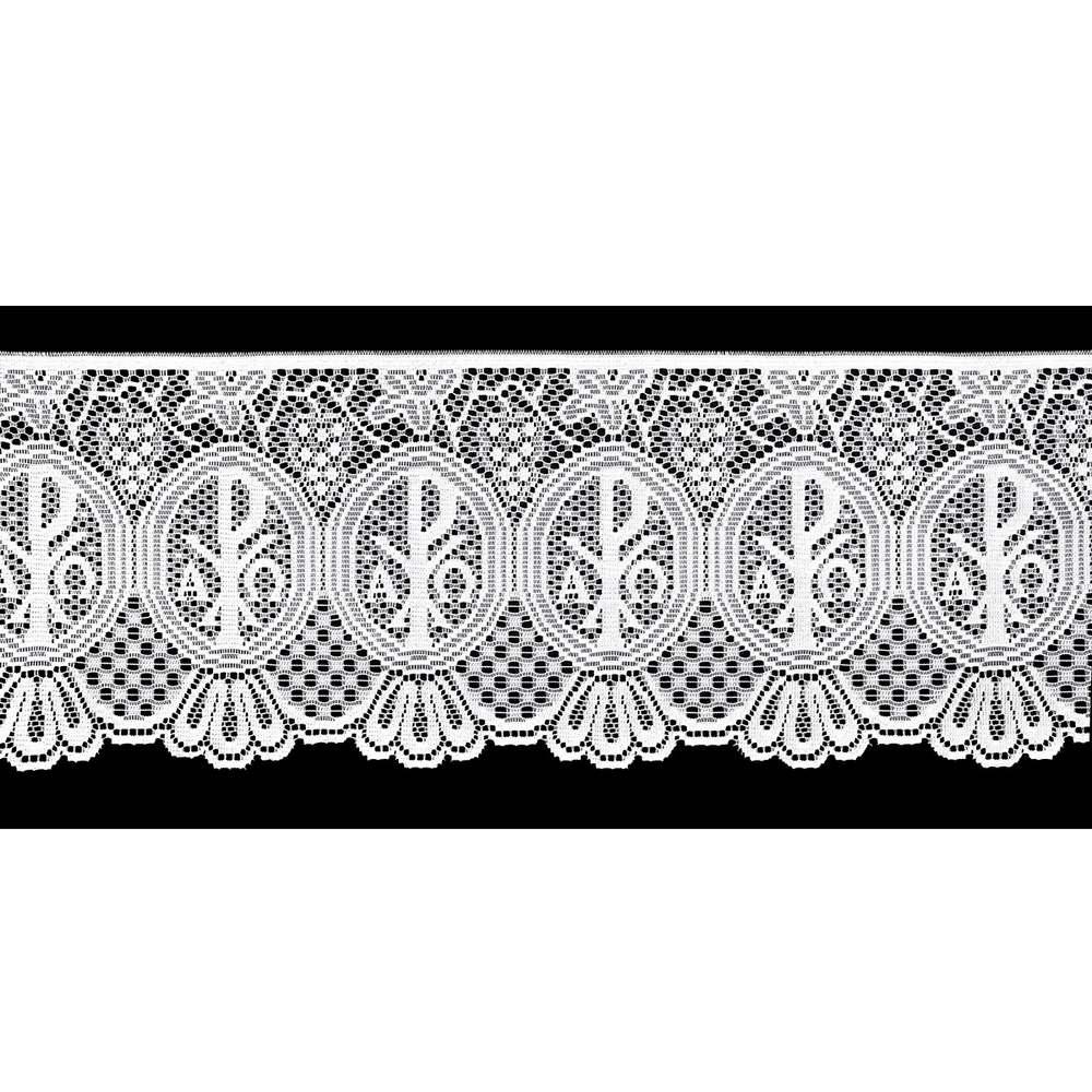 Renda Litúrgica Alpha e Omega 5 m x 30 cm largura  - (16230)