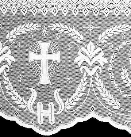 Renda Litúrgica Cálice 10 m x 60 cm de largura - (16060)