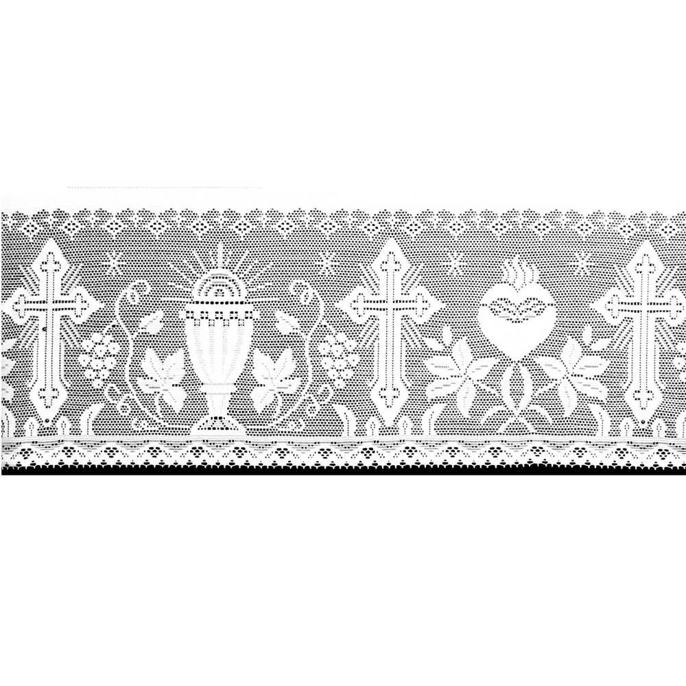 Renda Litúrgica Cálice 5 m x 30 cm largura - (16030)