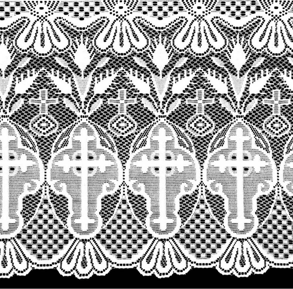 Renda Litúrgica Cruz 10 m x 60 cm de largura - (16160)