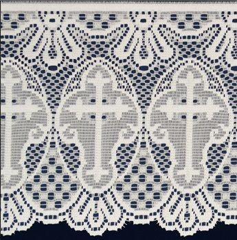 Renda Litúrgica Cruz 3,80 m x 30 cm largura - (16130)