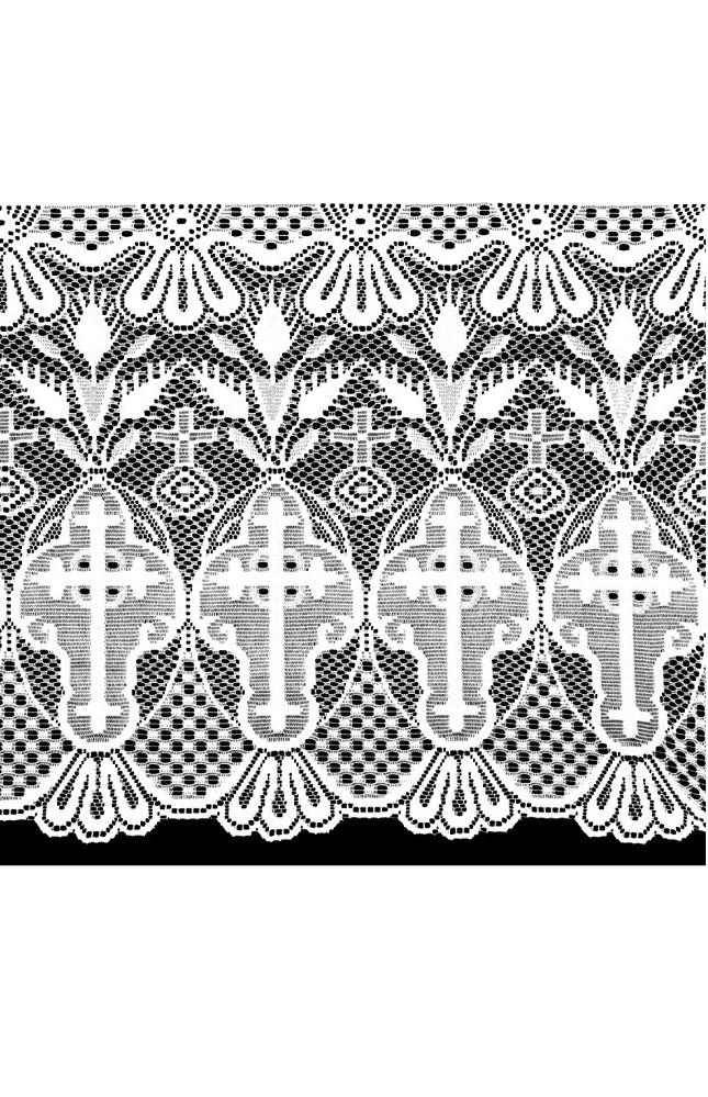 Renda Litúrgica Cruz 1 m x 60 cm de largura - (16160)