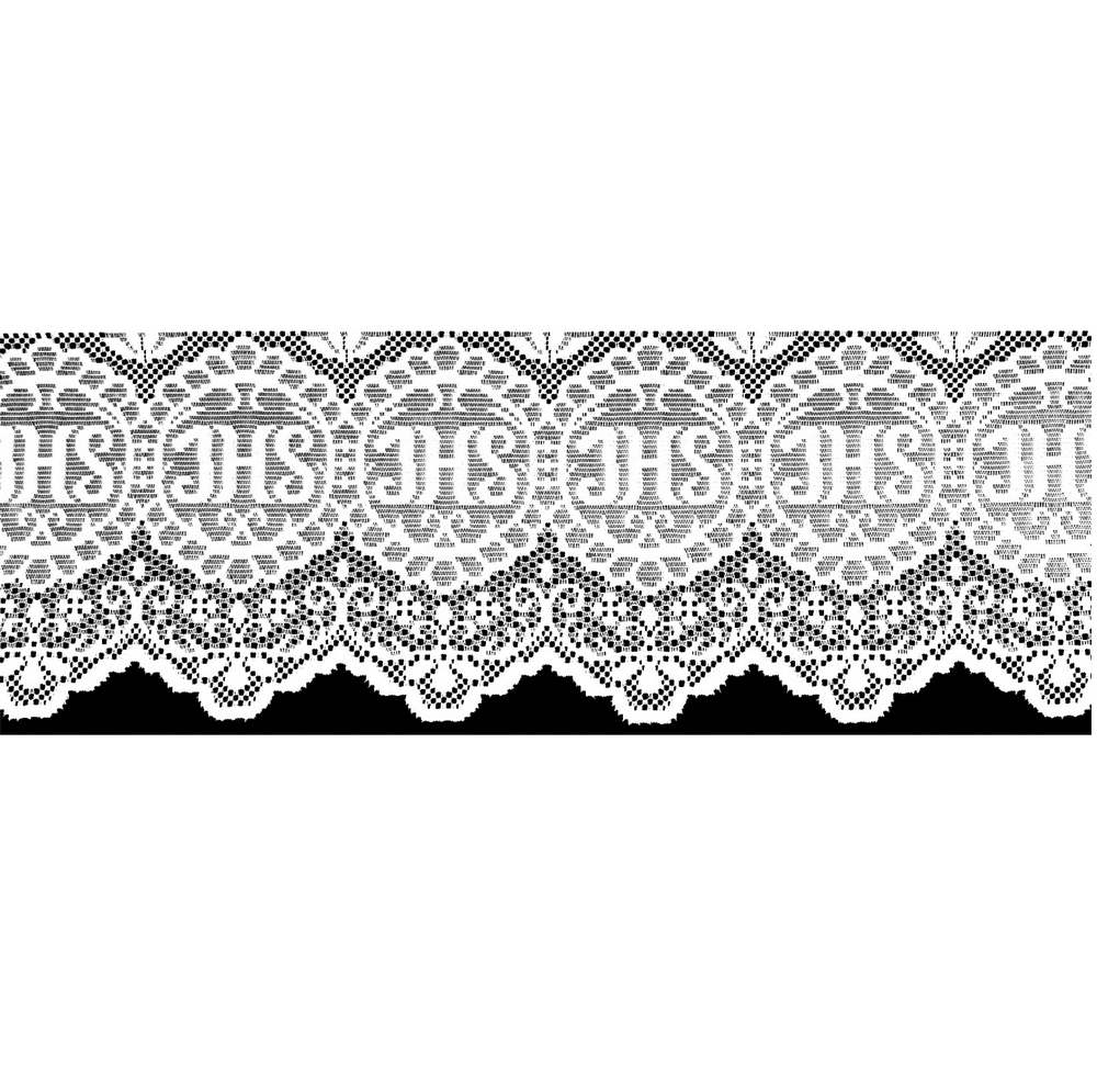 Renda Litúrgica JHS 10 m x 30 cm largura - (16330)