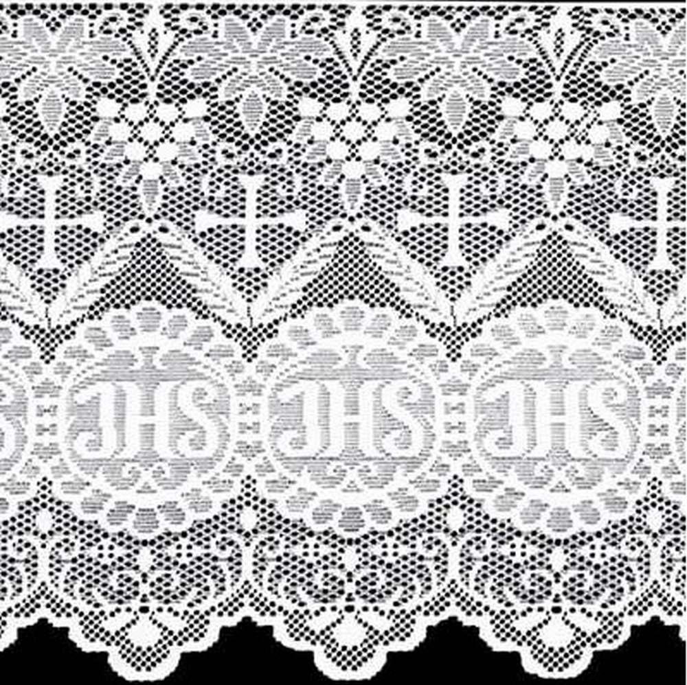 Renda Litúrgica JHS Tamanho Variado x 60 cm de largura - (16360) - Confira tamanho!