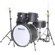 Bateria Acústica RMV Rock Performer 2 Tons Bumbo 20 PBRP20972 PRETA