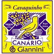 Corda Avulsa para Cavaco 4ª Ré (D) Giannini GESCB4