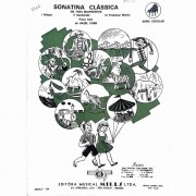 Método Partitura Piano - SONATINA CLÁSSICA EM TRÊS MOVIMENTOS - Hazel Cobb
