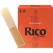 Palheta RICO REEDS Clarineta 2