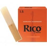 Palheta RICO REEDS Sax Soprano 1.5