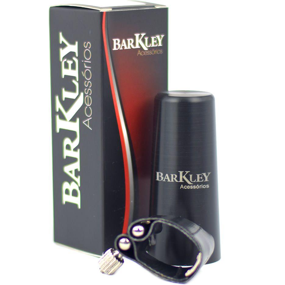 Abraçadeira BARKLEY Sax Soprano Boquilha de Metal com Ressonador ABMSR2