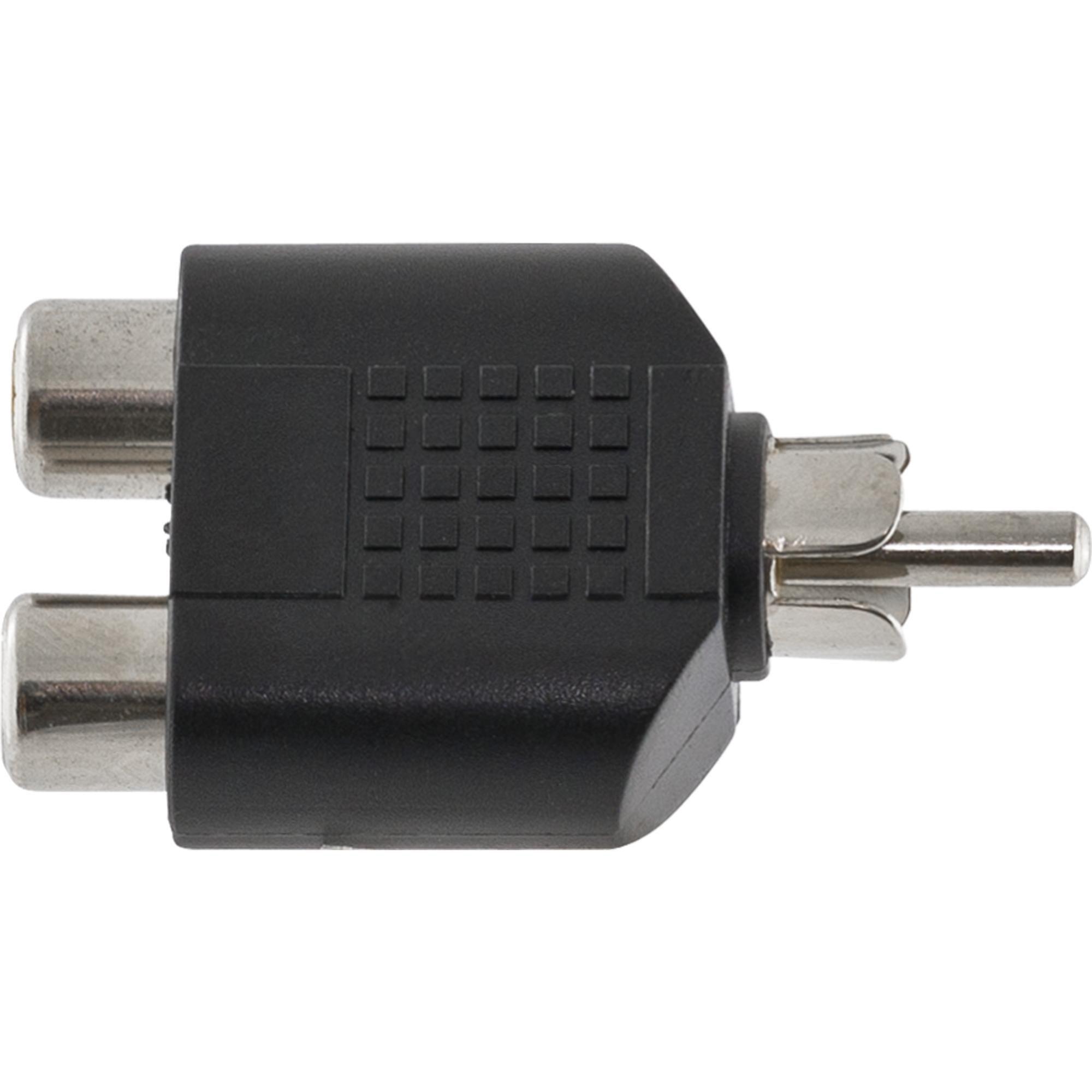 Adaptador GNR 2RCA F / RCA M HA046