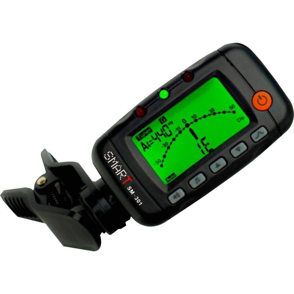 Afinador Metrônomo SMART Digital Cromático 3 em 1 SM301