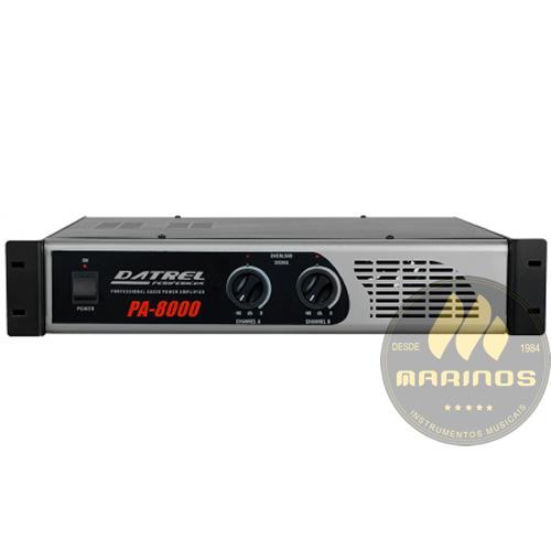 Amplificador DATREL Potência 800W PA8000
