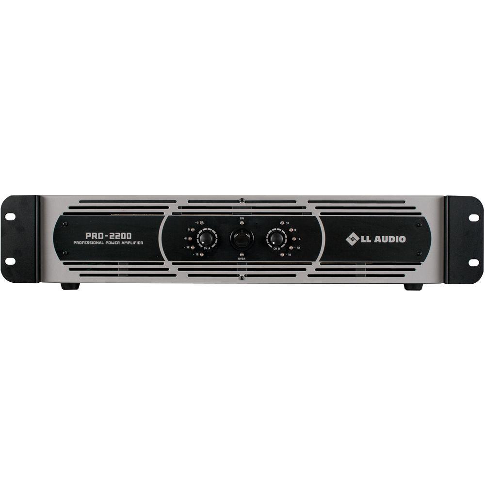 Amplificador LL AUDIO 550W PRO 2200