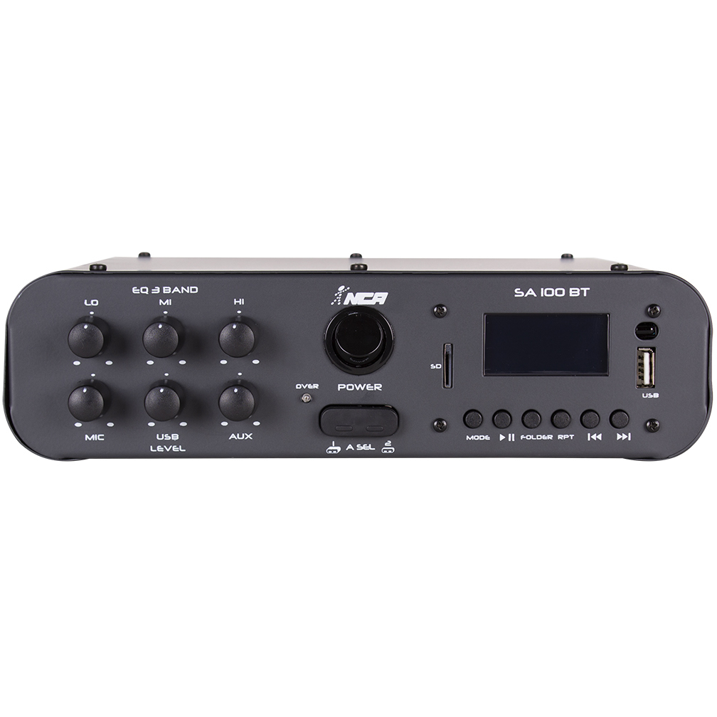 Amplificador NCA 100W SA100BT Media Player