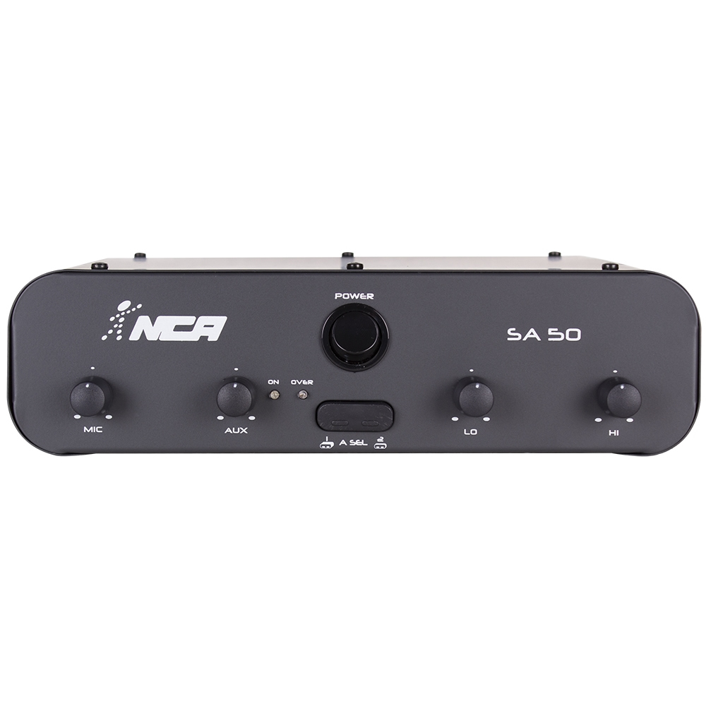 Amplificador NCA Som Ambiente 50W SA50