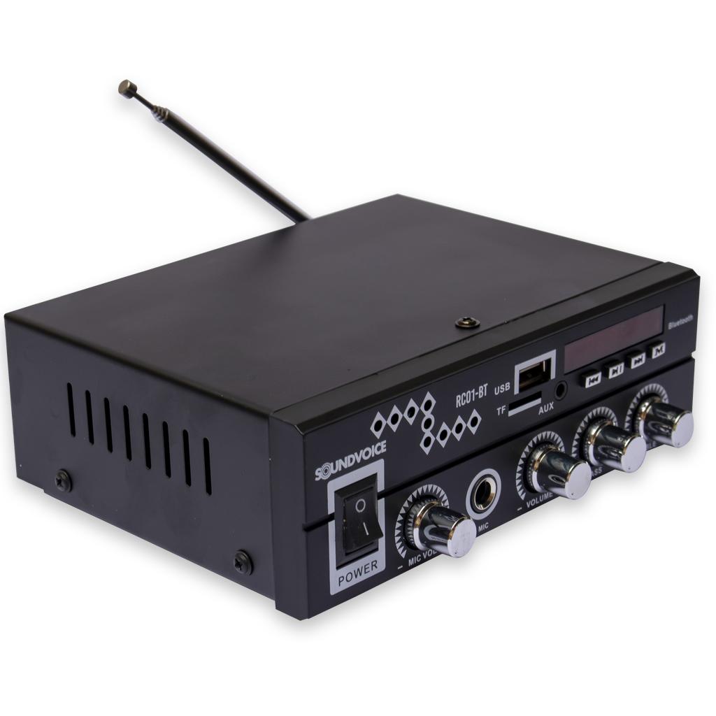 Amplificador SOUNDVOICE Receiver 60W RC01BT