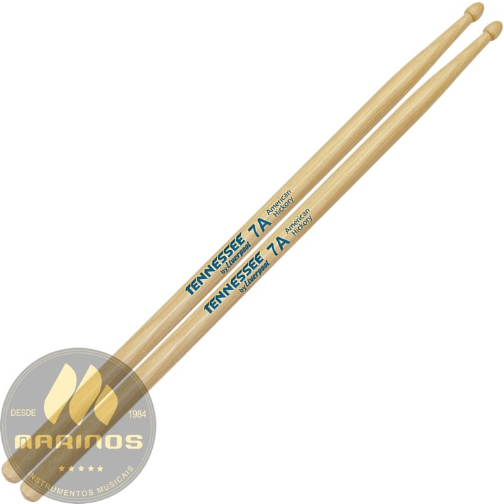 Baqueta LIVERPOOL TENNESSEE HICKORY 7A Madeira TNHY7AM