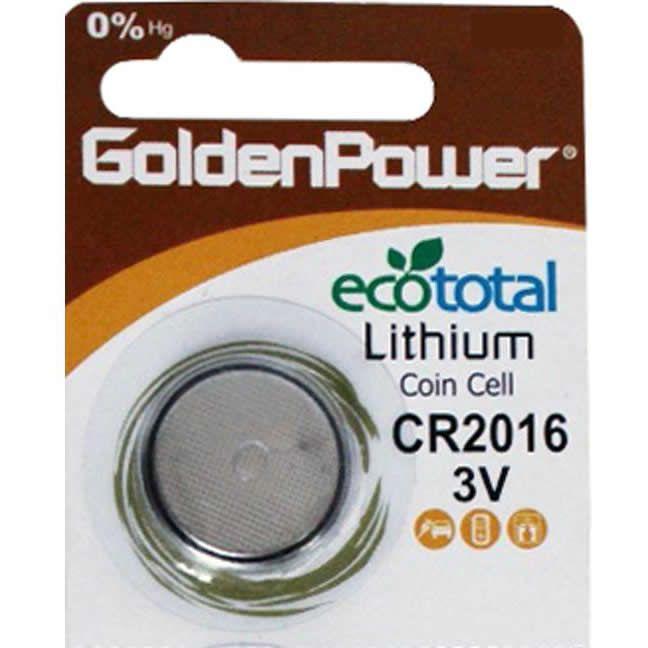 Bateria 3V GOLDEN POWER CR2025 (Unitário)