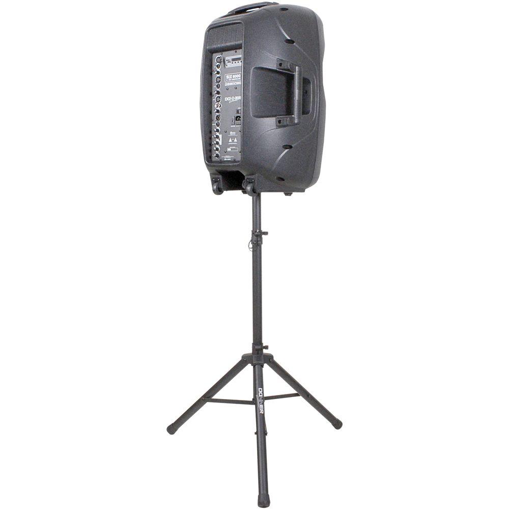 """Caixa de Som DONNER 15"""" 300W Com Tripé SIX 6000 Bluetooth"""