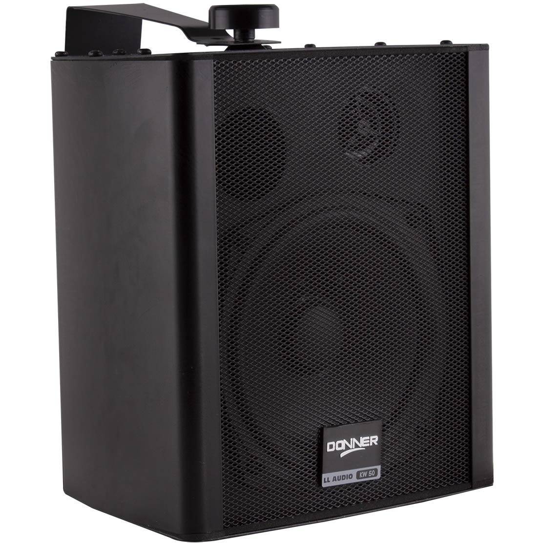 """Caixa de Som DONNER Ambiente 5"""" 80W KW50 Preto"""