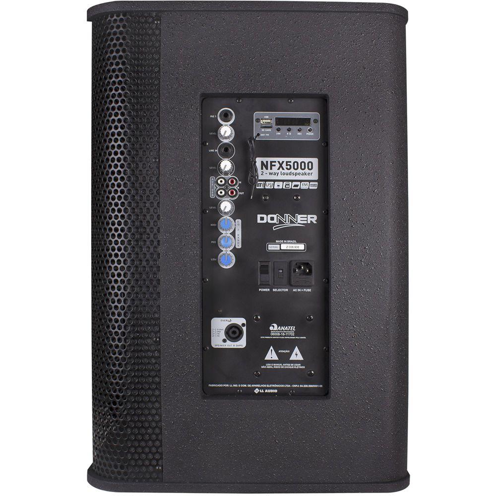 """Caixa de Som DONNER Ativa 15"""" 350W NFX5000A"""