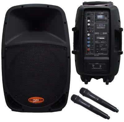 Caixa de Som DONNER Bateria 12V Ativa 12