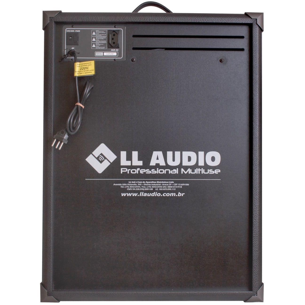 "Caixa de Som LL AUDIO Multiuso 10"" 60W TRX10 USB"