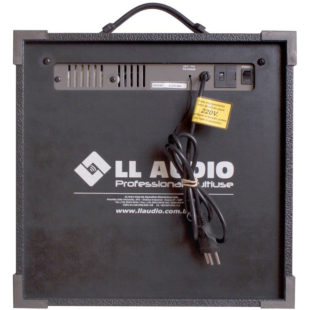 "Caixa de Som LL AUDIO Multiuso 8"" 45W TRX8 USB"