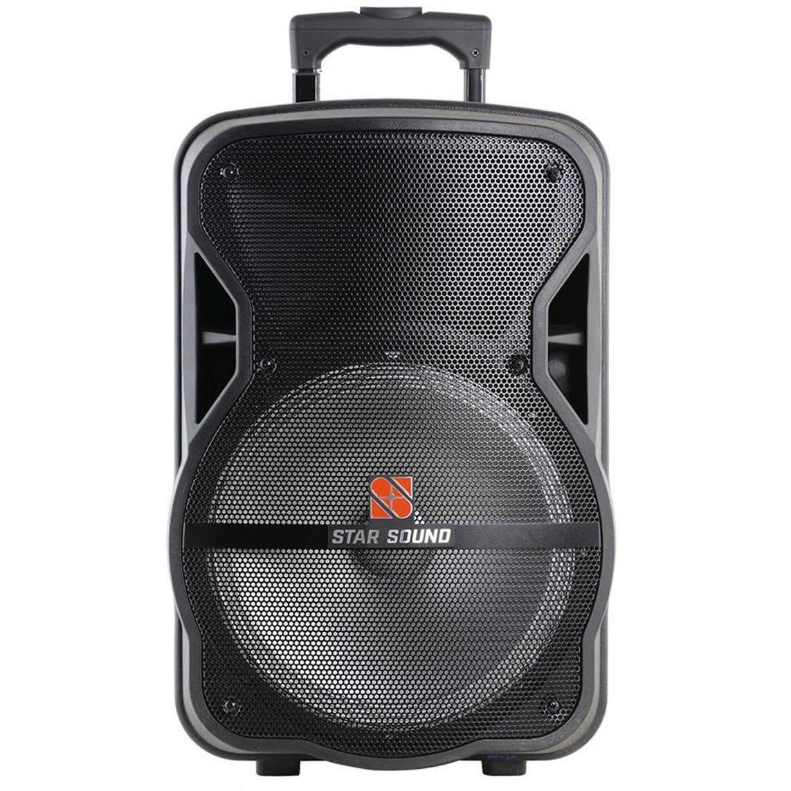 Caixa de Som STANER Star Sound Ativa Bateria 12