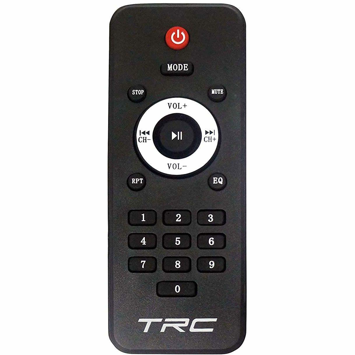 """Caixa de Som TRC Ativa 08"""" 190W TRC 517 Microfone com fio"""