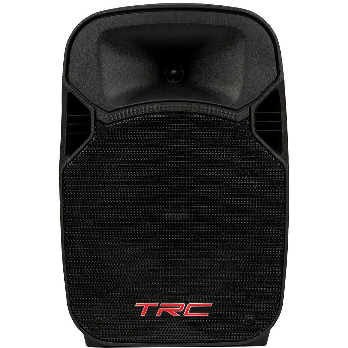 """Caixa de Som TRC Ativa 12"""" 200W TRC 329 Microfone com fio"""