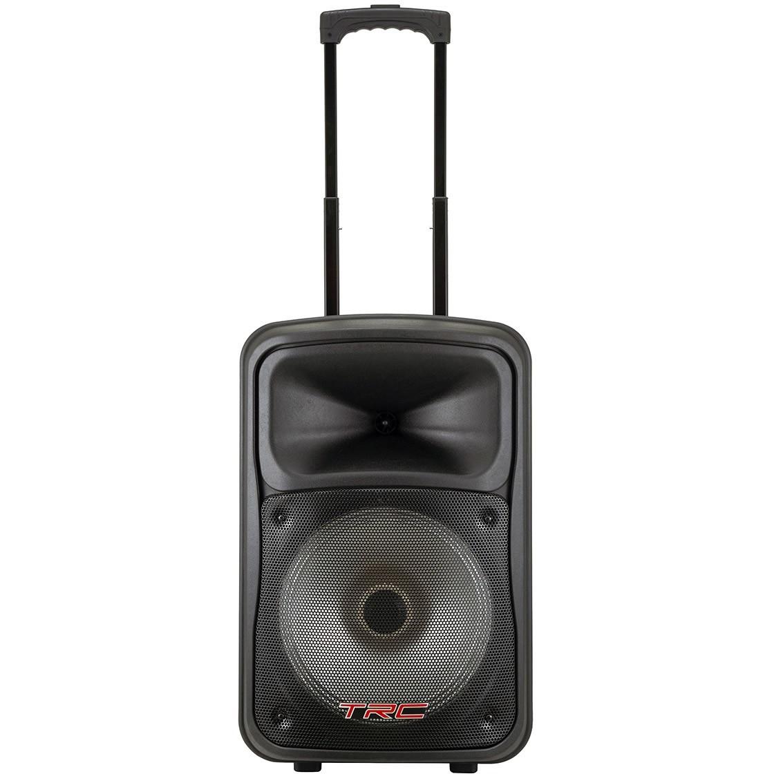 Caixa de Som TRC Ativa 480W TRC 536 Microfone Com Fio