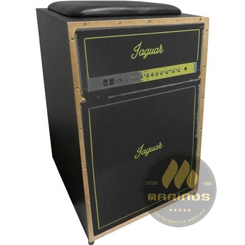 Cajon JAGUAR Elétrico CJ1000 K2 COR 003 EQ Amplificador