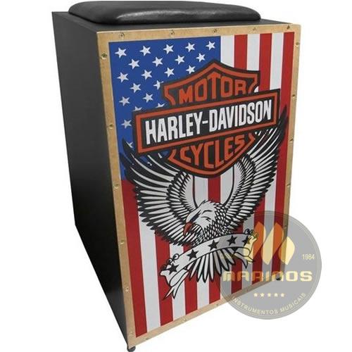 Cajon JAGUAR Elétrico CJ1000 K2 COR 005 EQ Harley-Davidson America