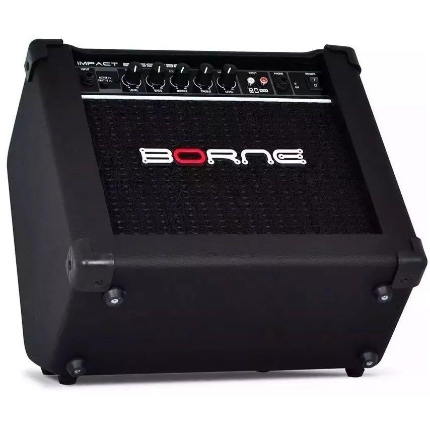 Combo BORNE Contrabaixo IMPACT BASS CB60 20W Preto