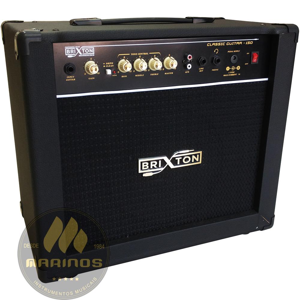Combo BRIXTON Guitarra 100W CLASSIC GUITAR 150 Preto