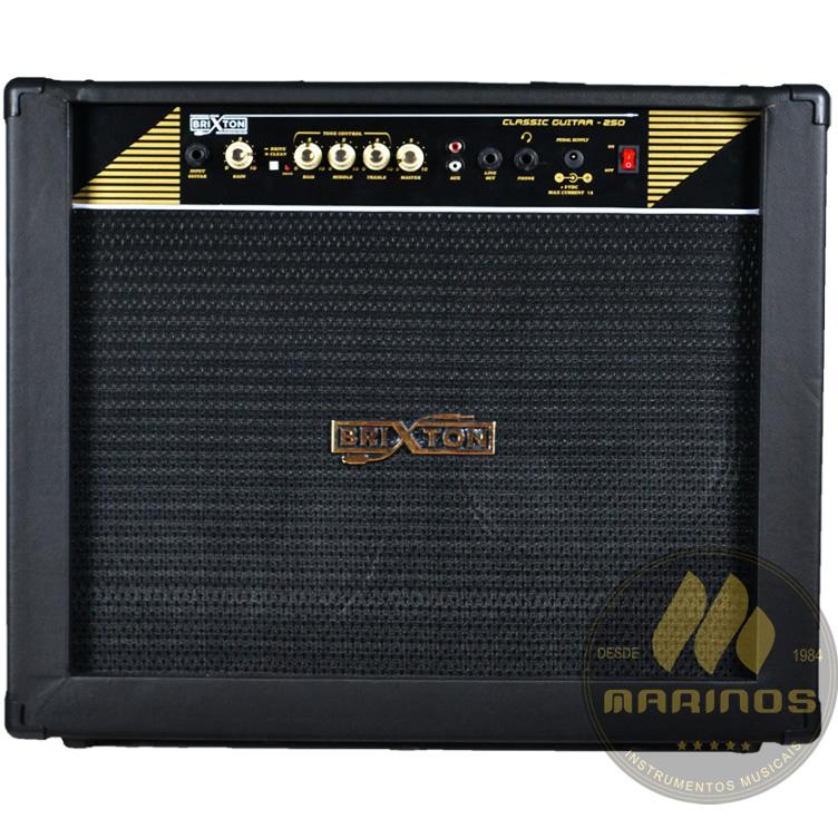 Combo BRIXTON Guitarra 120W CLASSIC GUITAR 250 Preto