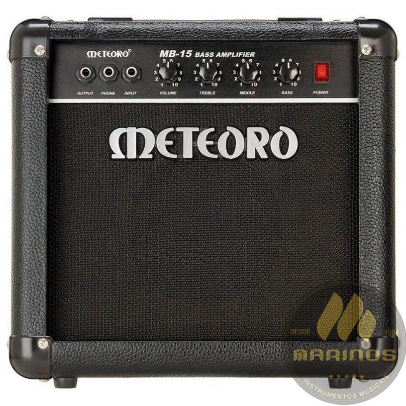 Combo METEORO Contrabaixo 15W MB15