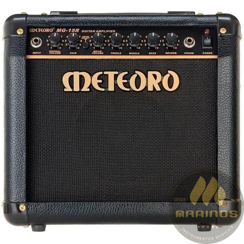 Combo METEORO Guitarra 15W MG15R Reverb