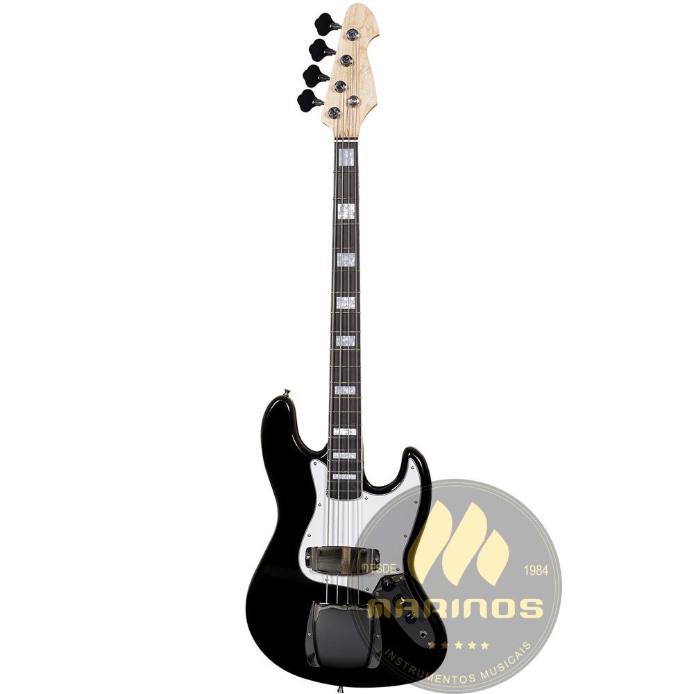 Contrabaixo MICHAEL Jazz Bass BM675N BK Preto