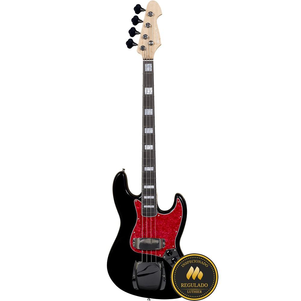 Contrabaixo MICHAEL Jazz Bass BM675N BT Preto Tortoise