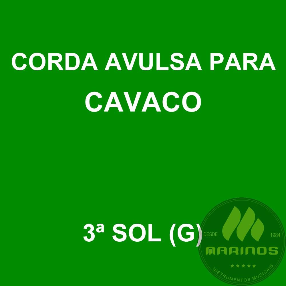 Corda Avulsa para Cavaco 3ª SOL (G) GNR