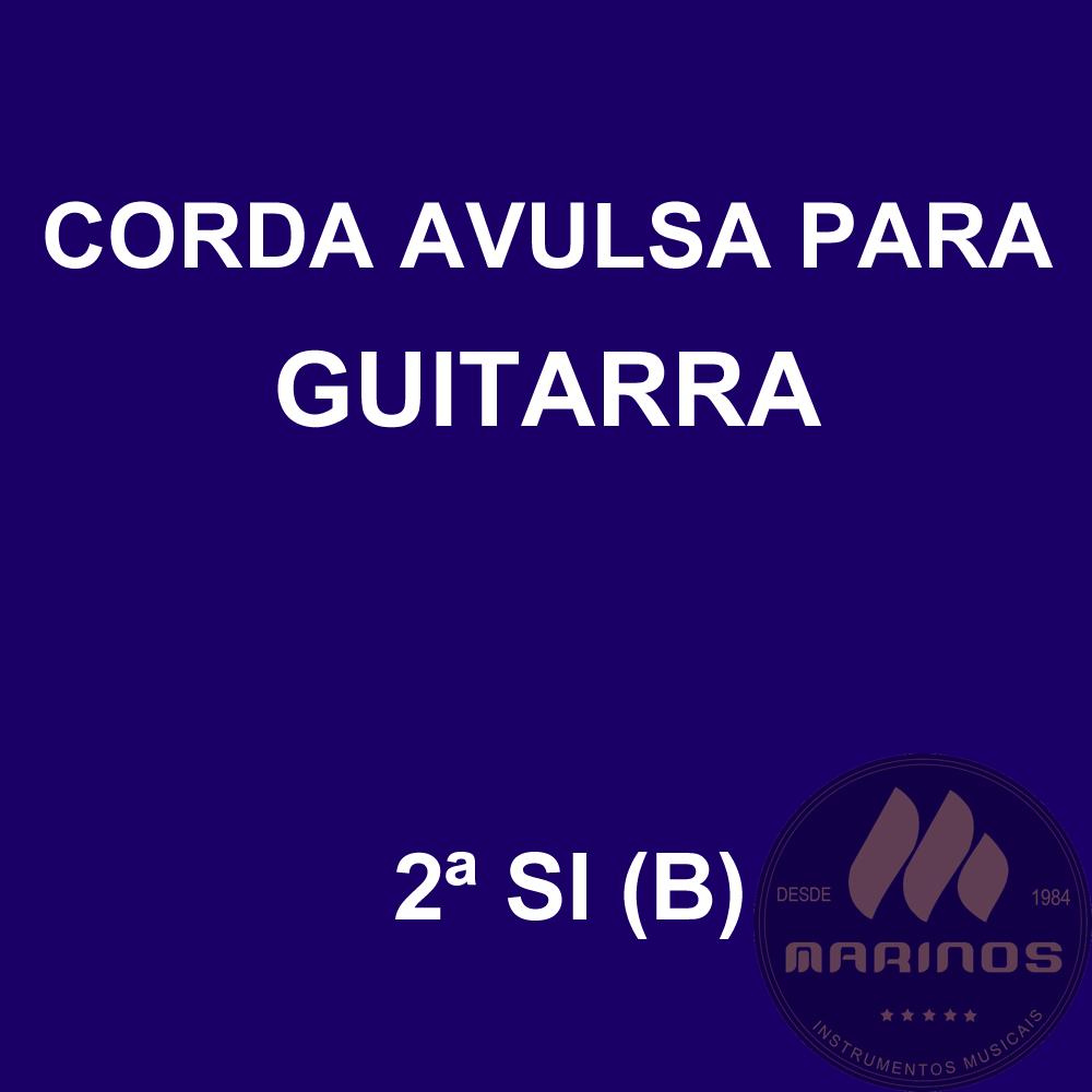 Corda Avulsa para Guitarra 2ª SI (B) GNR