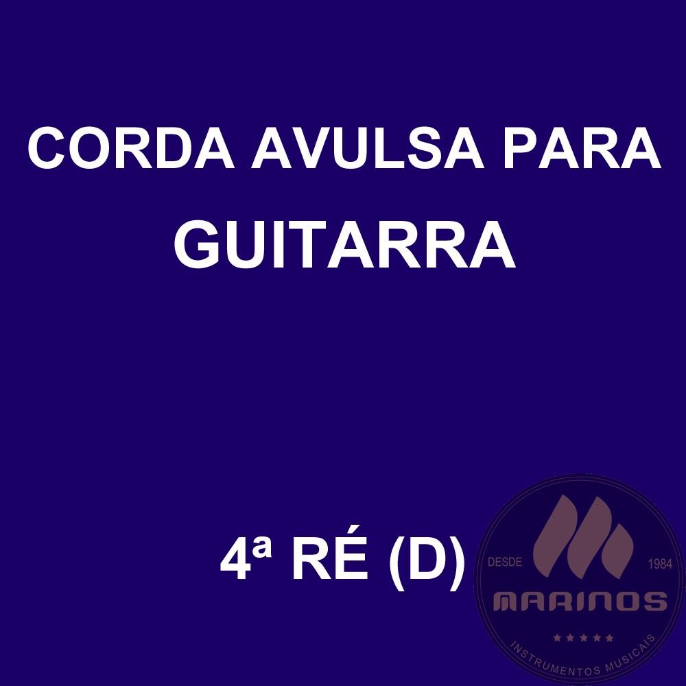 Corda Avulsa para Guitarra 4ª RÉ (D) GNR