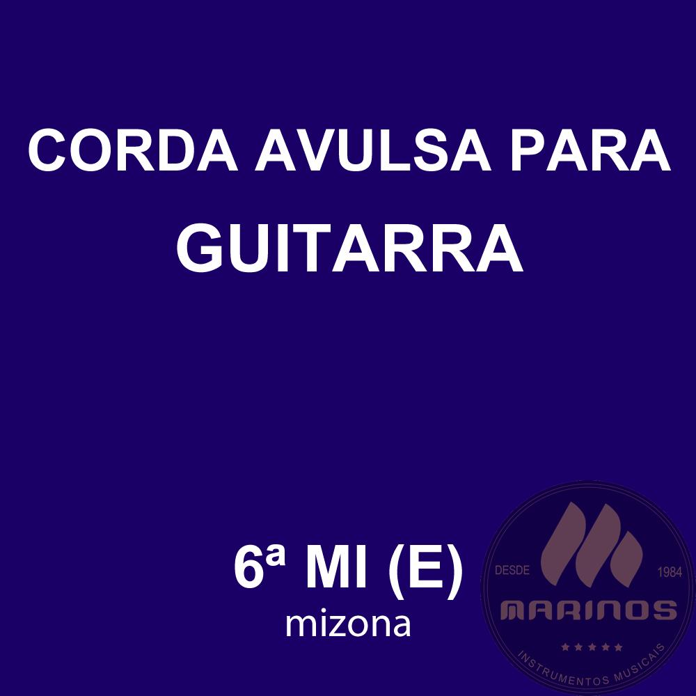 Corda Avulsa para Guitarra 6ª MI (E) GNR
